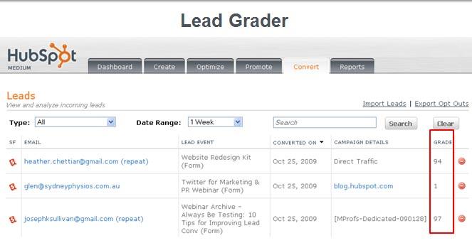 Lead Grader